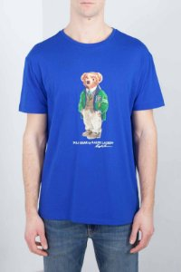 "POLO RALPH LAUREN - Camiseta Polo Bear Classic Fit ""Azul"" -NOVO-"
