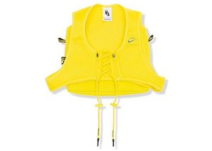 "NIKE x OFF-WHITE - Colete Cross Bib ""Optic Yellow"""