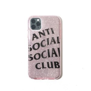 "ANTI SOCIAL SOCIAL CLUB - Case Iphone 11 No Texts ""Rosa"" -NOVO-"