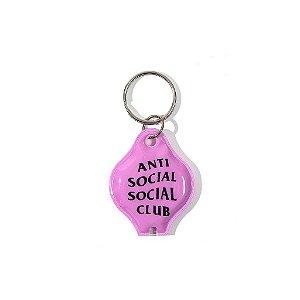 """ANTI SOCIAL SOCIAL CLUB - Chaveiro Light True Colors """"Rosa"""" -NOVO-"""