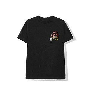 "ANTI SOCIAL SOCIAL CLUB - Camiseta Tanner ""Preto"" -NOVO-"