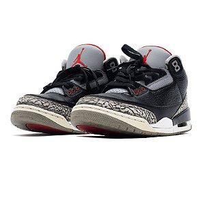 """NIKE - Air Jordan 3 Retro """"Black Cement"""" -USADO-"""