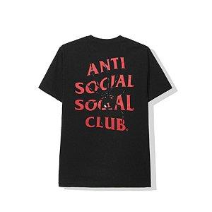 "ANTI SOCIAL SOCIAL CLUB - Camiseta Bitter ""Preto"" -NOVO-"