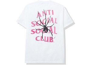 """ANTI SOCIAL SOCIAL CLUB - Camiseta Bitter """"Branco"""" -NOVO-"""