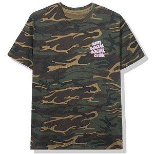 "ANTI SOCIAL SOCIAL CLUB - Camiseta Popcorn ""Camo"" -NOVO-"