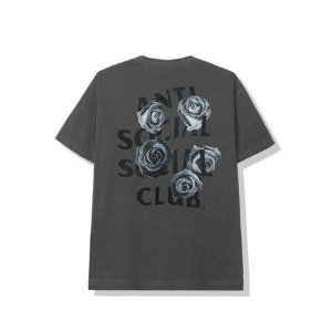 "ANTI SOCIAL SOCIAL CLUB - Camiseta Bat Emoji ""Grafite"" -NOVO-"