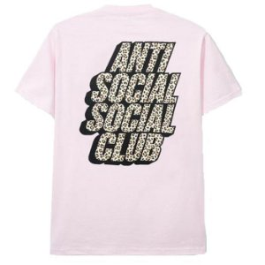 "ANTI SOCIAL SOCIAL CLUB - Camiseta Kitten ""Rosa"" -NOVO-"