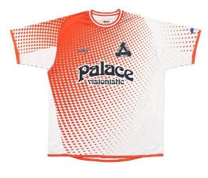 "PALACE - Camiseta Multi Option Footie Jersey ""Vermelho"" -NOVO-"