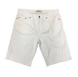 """LACOSTE - Bermuda Jeans """"Branco"""" -NOVO-"""
