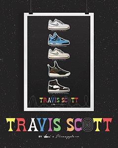 POSTER - Nike x Travis Scott -NOVO-