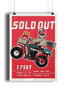 POSTER - Sold Out 1 Edição -NOVO-