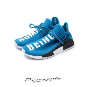 "ADIDAS x PHARRELL - NMD Hu ""Sharp Blue"" -USADO-"