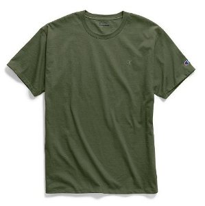 "CHAMPION - Camiseta Classic Jersey ""Verde"" -NOVO-"