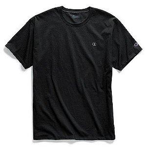 "CHAMPION - Camiseta Classic Jersey ""Preto"" -NOVO-"