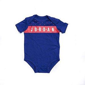 "NIKE - Body Air Jordan ""Azul"" (Infantil) -NOVO-"