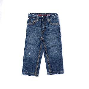 "TOMMY HILFIGER - Calça Jeans ""Azul"" (Infantil) -USADO-"