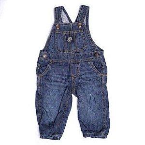 "MINI PINEAPPLE - Jardineira Jeans ""Azul"" (Infantil) -NOVO-"