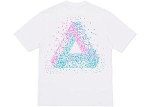 "PALACE - Camiseta Tri Flect ""Branco"" -USADO-"