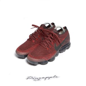 "NIKE - Air VaporMax ""Dark Team Red"" -USADO-"
