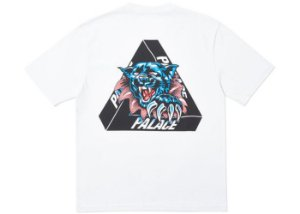 "PALACE - Camiseta Ripped ""Branco"" -NOVO-"