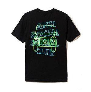 """ANTI SOCIAL SOCIAL CLUB - Camiseta RVSP Gallery """"Preto"""" -NOVO-"""