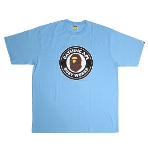"BAPE - Camiseta Busy Works ""Azul"" -USADO-"