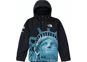 """SUPREME x THE NORTH FACE - Jaqueta Statue Of Liberty Baltoro """"Preto"""" -USADO-"""