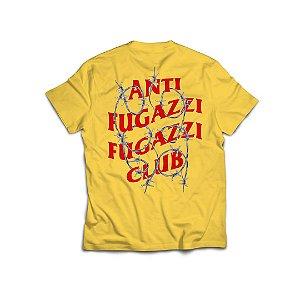 "PRÉ-VENDA: ANTI FUGAZZI FUGAZZI CLUB - Camiseta Barbara ""Amarelo"" -NOVO-"