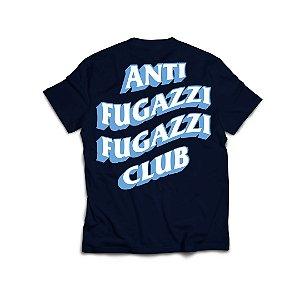 "PRÉ-VENDA: ANTI FUGAZZI FUGAZZI CLUB - Camiseta Plastic T-Rex ""Azul Marinho"" -NOVO-"