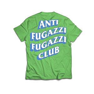 "PRÉ-VENDA: ANTI FUGAZZI FUGAZZI CLUB - Camiseta Plastic T-Rex ""Verde"" -NOVO-"