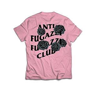 "PRÉ-VENDA: ANTI FUGAZZI FUGAZZI CLUB - Camiseta Bat Emoji ""Rosa"" -NOVO-"