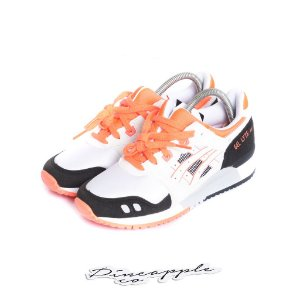 "ASICS - Gel Lyte III OG ""White/Flash Coral"" -NOVO-"