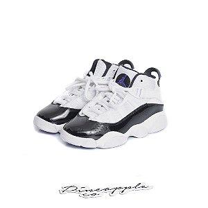 """NIKE - Air Jordan 6 Rings """"Concord"""" (Infantil) -USADO-"""