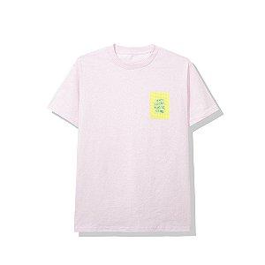 "ANTI SOCIAL SOCIAL CLUB - Camiseta Sugoi ""Rosa"" -NOVO-"