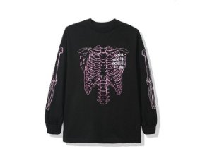 "ANTI SOCIAL SOCIAL CLUB - Camiseta Manga Longa Car Underwater ""Preto"" -NOVO-"