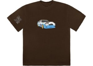 "TRAVIS SCOTT - Camiseta Jackboys Vehicle ""Marrom"" -NOVO-"