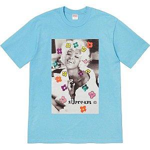 """SUPREME - Camiseta Naomi """"Azul"""" -NOVO-"""
