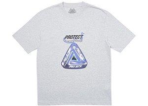 """PALACE - Camiseta Evil Eye """"Cinza"""" -NOVO-"""