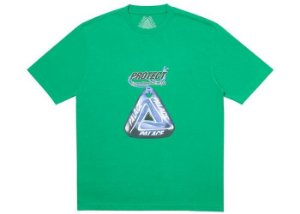 "PALACE - Camiseta Evil Eye ""Verde"" -NOVO-"