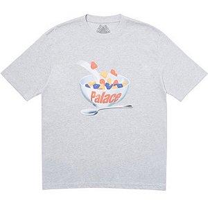 "PALACE - Camiseta Charms ""Cinza"" -NOVO-"