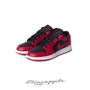 "NIKE - Air Jordan 1 Low ""Reverse Bred"" -NOVO-"