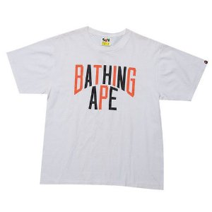 "BAPE - Camiseta Bathing Ape ""Branco"" -USADO-"