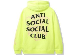 "ANTI SOCIAL SOCIAL CLUB - Moletom Car Underwater ""Verde Neon"" -NOVO-"