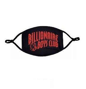 "BILLIONAIRE BOYS CLUB - Máscara Curve Logo ""Preto/Vermelho"" -NOVO-"