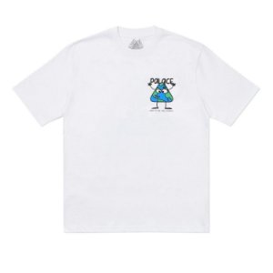 "PALACE - Camiseta Globlerone ""Branco"" -NOVO-"