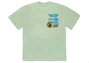 """TRAVIS SCOTT - Camiseta Cactus Trails Assn """"Verde"""" -NOVO-"""