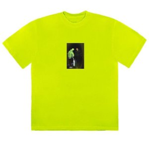 "TRAVIS SCOTT - Camiseta  Jackboys Photo II ""Verde Neon"" -NOVO-"