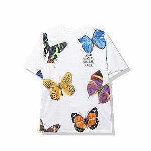 "ANTI SOCIAL SOCIAL CLUB - Camiseta Ashton ""Branco"" -NOVO-"