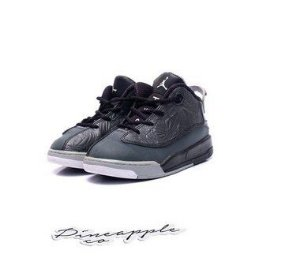 "NIKE - Air Jordan Dub-Zero ""Black"" (Infantil) -USADO-"