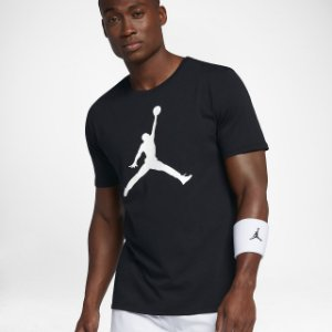 "NIKE - Camiseta Jordan Iconic Jumpman ""Preto"" -NOVO-"